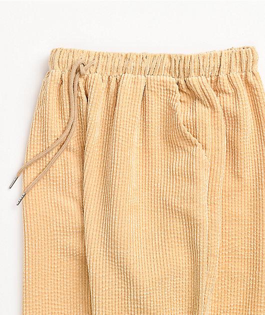 Daisy Street Corduroy Cream Sweatpants