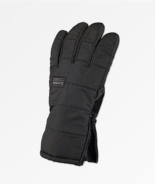Dakine Omega gauntes de snowboard gris y negro