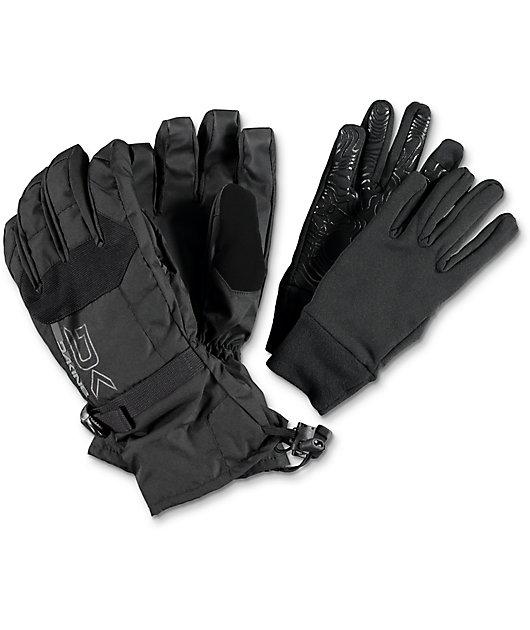 Dakine Scout Black Snowboard Gloves 2017