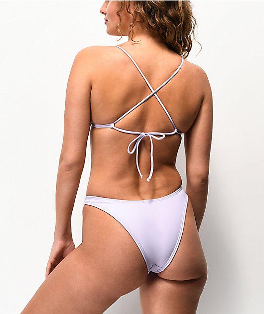 Damsel Pixie Lavender High Leg Bikini Bottom