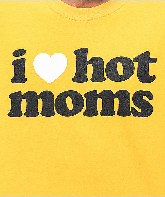 Danny Duncan I Heart Hot Moms Gold T-Shirt