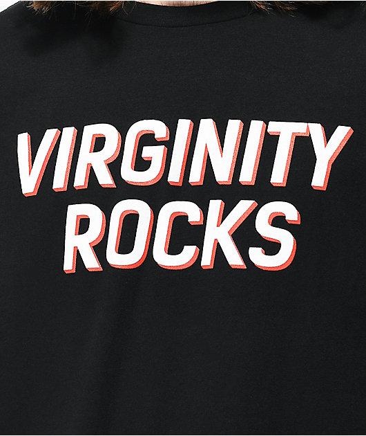 Danny Duncan Virginity Rocks Black T-Shirt