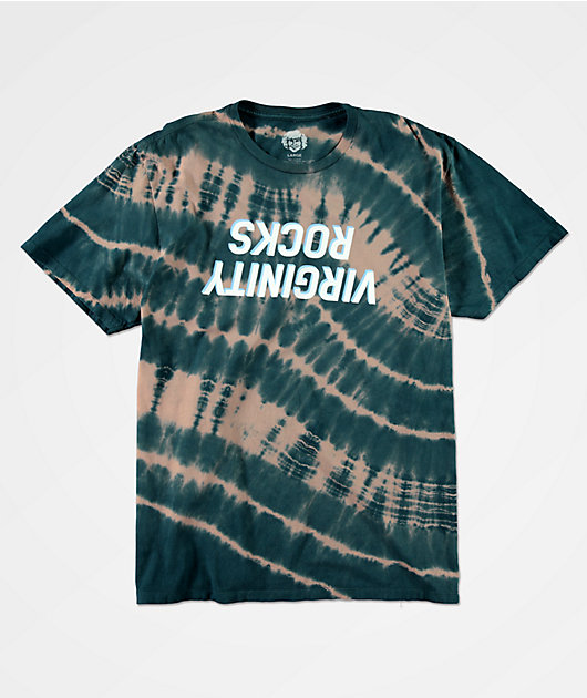 Danny Duncan Virginity Rocks Blue & Tan Streak Dye T-Shirt