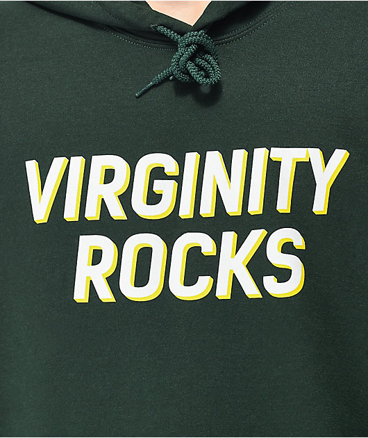 Danny Duncan Virginity Rocks Forest Green Hoodie