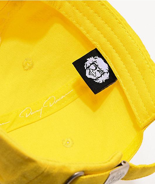 Danny Duncan Virginity Rocks Yellow Strapback Hat