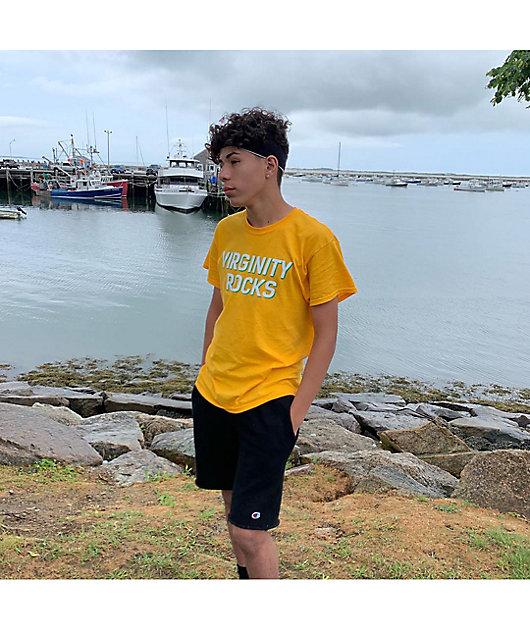 Danny Duncan Virginity Rocks Yellow T-Shirt