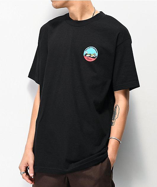 Danson Do It Tomorrow Black T-Shirt
