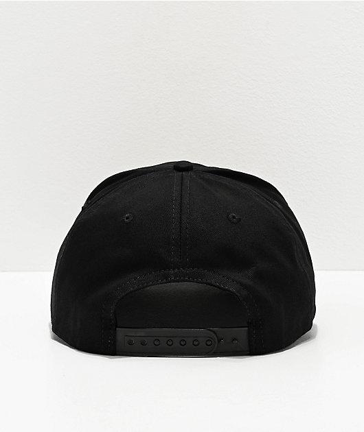 Danson Moon River Black Snapback Hat