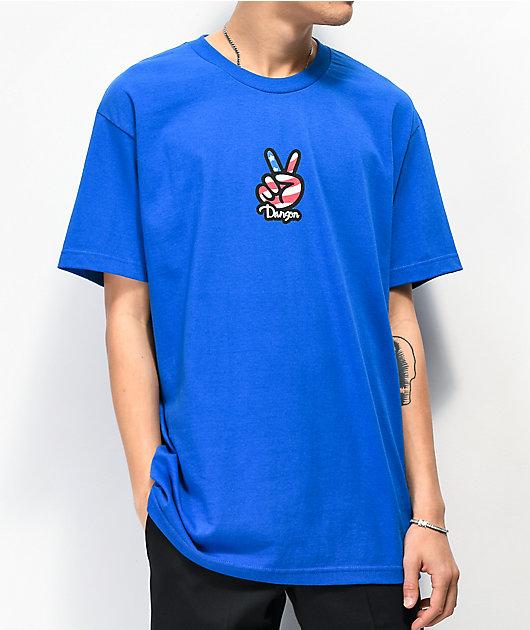 Danson Sign Language Blue T-Shirt