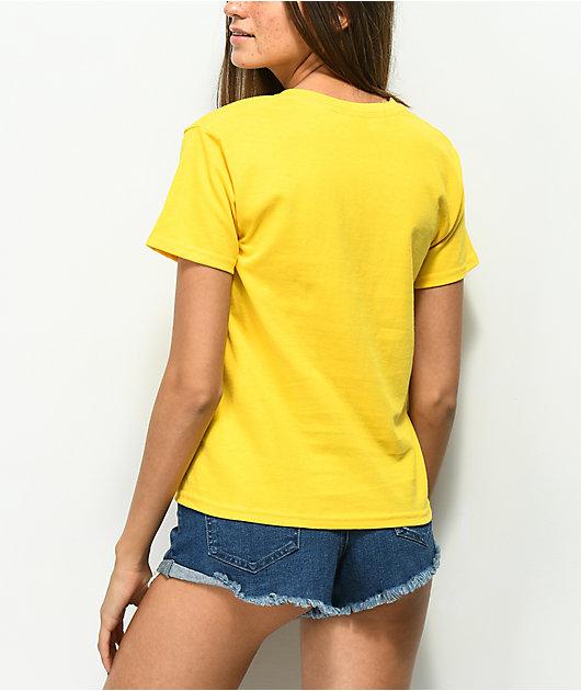 Dark Seas Divers Club Yellow T-Shirt