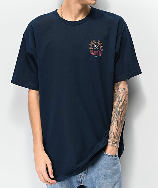 Dark Seas Quartermaster Navy T-Shirt
