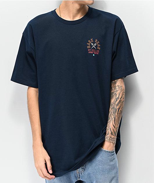 Dark Seas Quartermaster camiseta azul marino