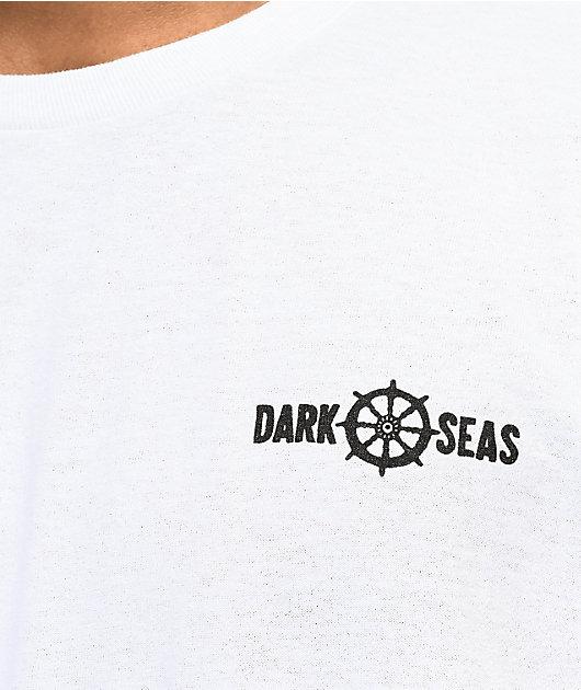 Dark Seas x SBK Brainwashed camiseta blanca