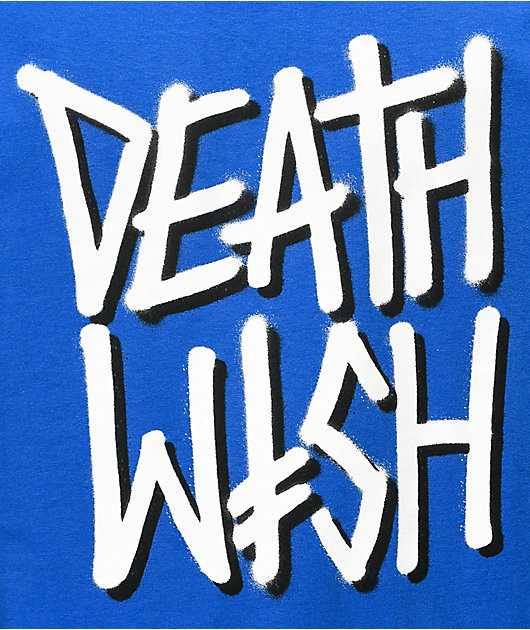 Deathwish Deathstack camiseta azul