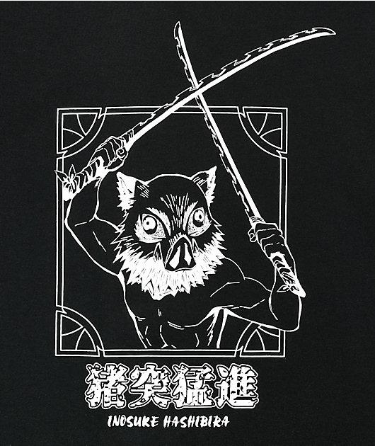 Demon Slayer Inosuke Black T-Shirt
