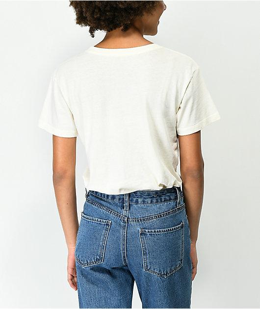 Desert Dreamer Checker Block Off White T-Shirt