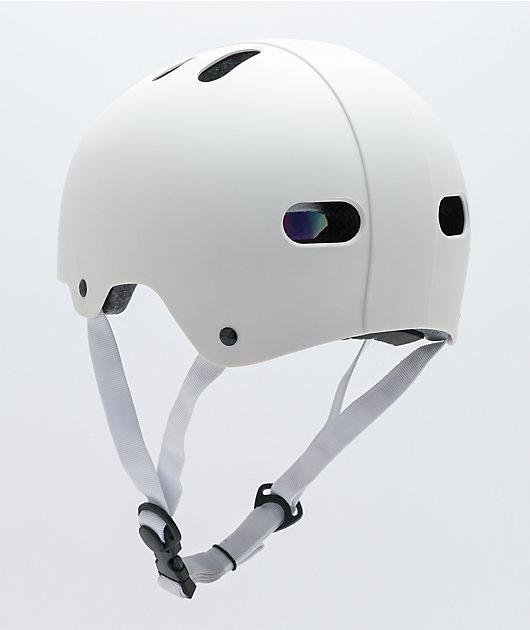Destroyer Certified Spectrum White Skateboard Helmet