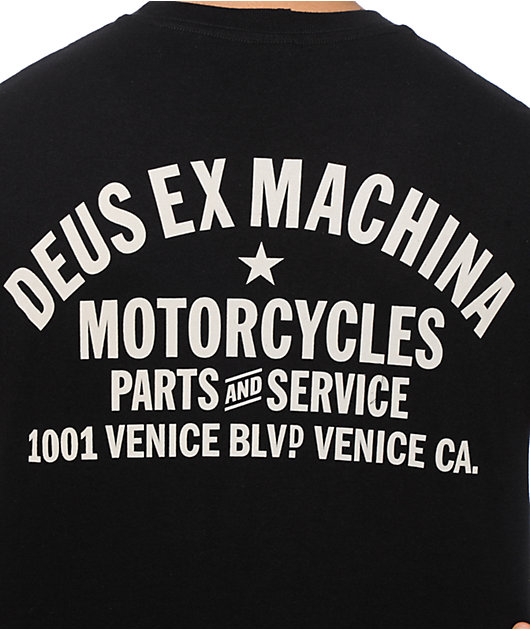 Deus Ex Machina Moto Grigio T-Shirt