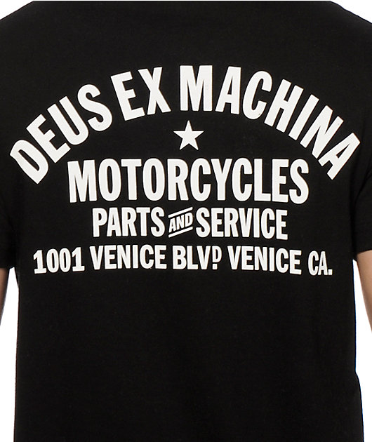 Deus Ex Machina Venice Address T-Shirt