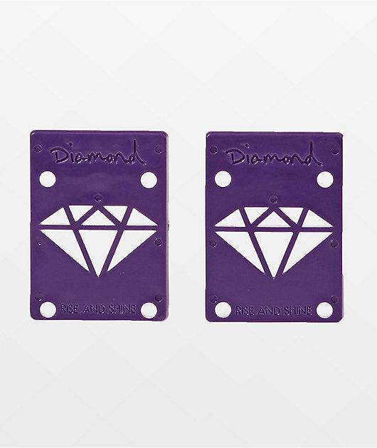 Diamond Supply Co. Rise & Shine Purple Riser Pads