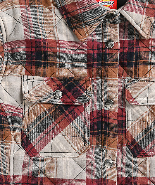 Dickies Auburn Plaid Shirt Jacket