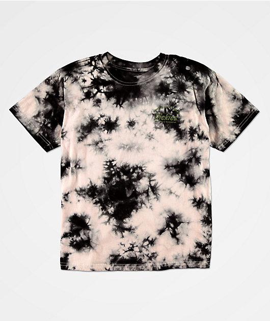 Dickies Black & Pink Tie Dye T-Shirt