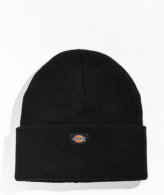 Dickies Black Knit Beanie