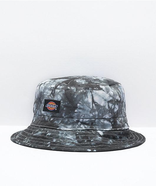 Dickies Black Tie Dye Bucket Hat