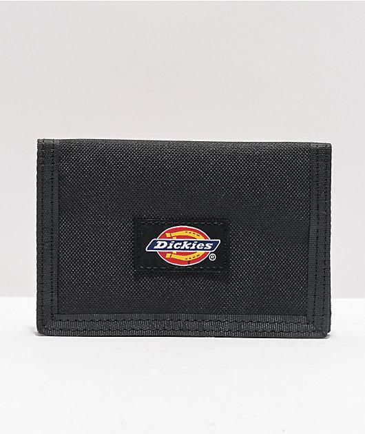 Dickies Black Trifold Wallet
