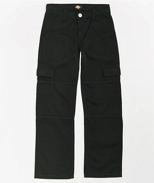 Dickies Boys Black Cargo Pants