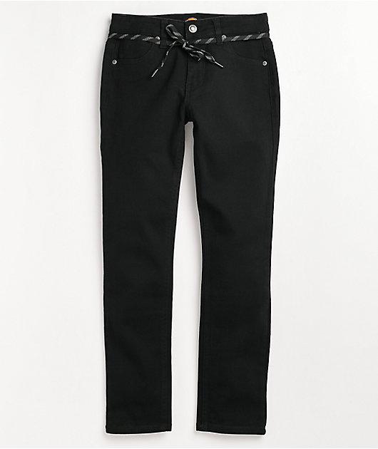 Dickies Boys Black Denim Skinny Jeans