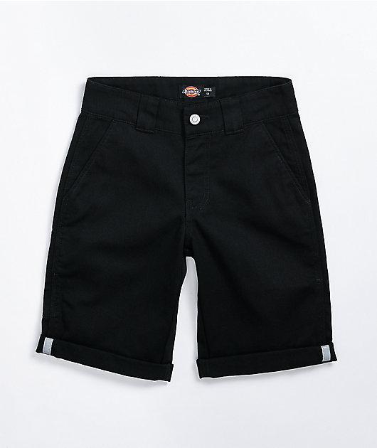 Dickies Boys Black Utility Shorts