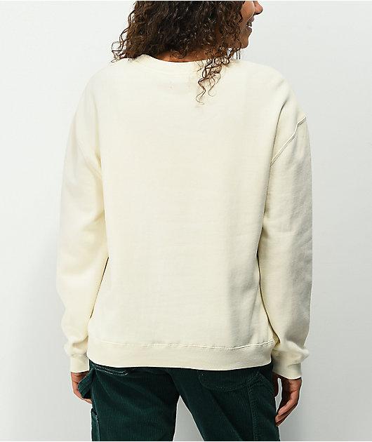 Dickies Cream Crew Neck Sweatshirt