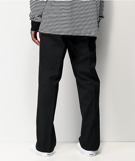 Dickies Flex Black Slim Chino Work Pants