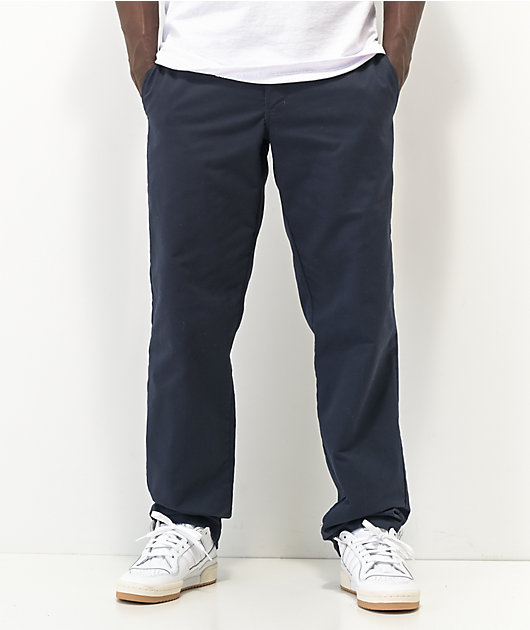 Dickies Flex Dark Navy Slim Chino Work Pants
