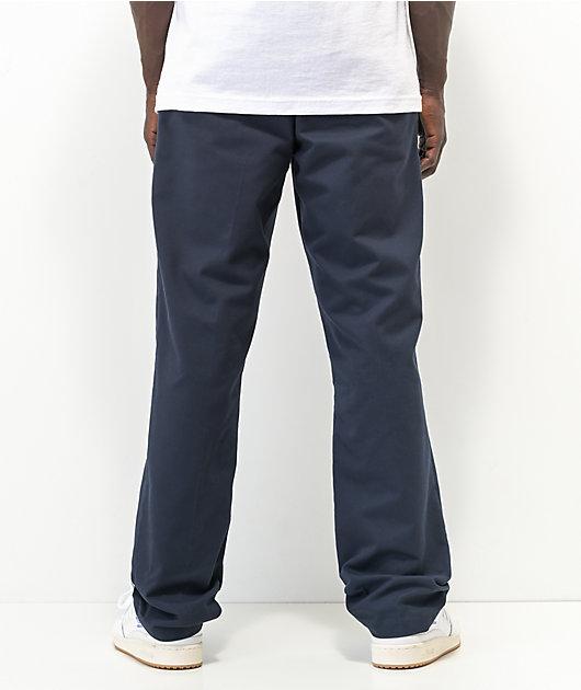 Dickies Flex Pantalones Chinos De Trabajo En Azul Marino Zumiez