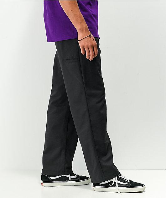Dickies Foy Loose Black Twill Skate Pants