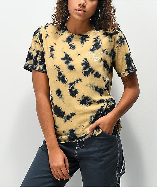 Dickies Ginger & Black Tie Dye T-Shirt