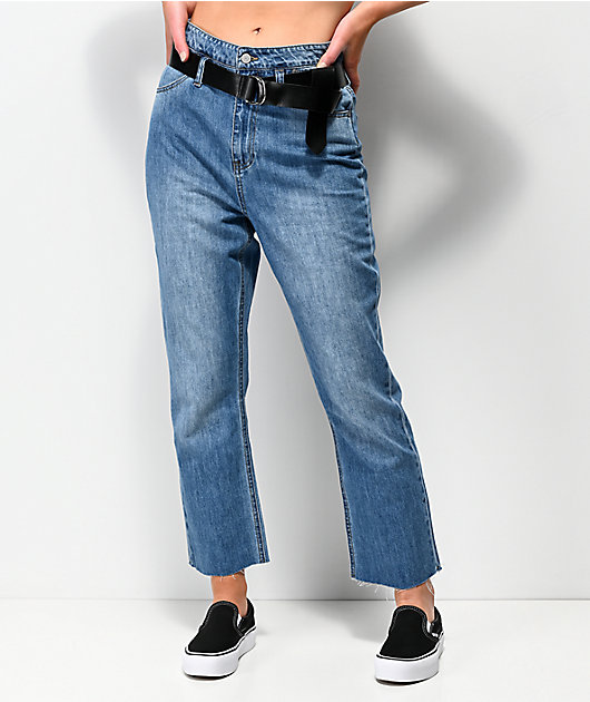 Dickies Paperbag High Rise Crop Jeans