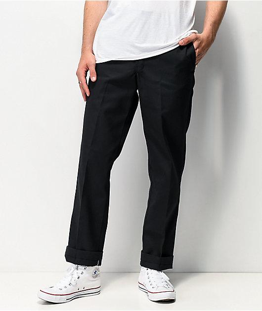 Dickies Regular pantalones negros de trabajo