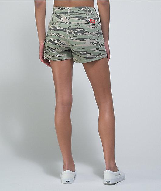 Dickies Sage Tiger Camo Cargo Shorts