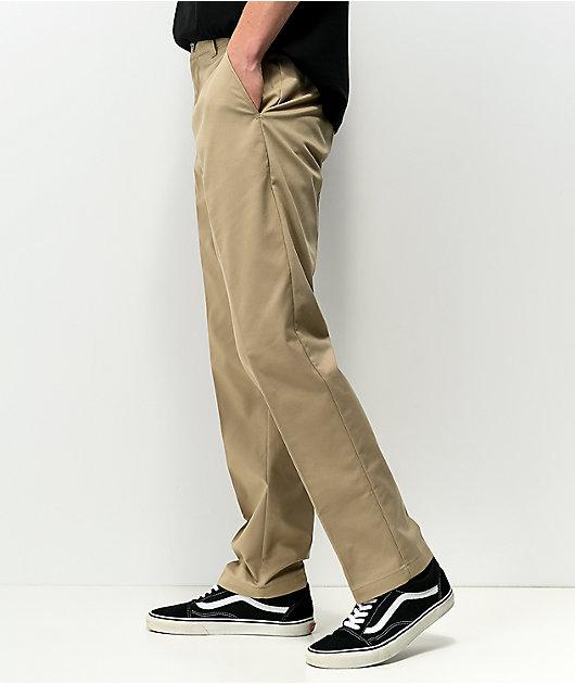 Dickies Skate Slim Straight Khaki Chino Pants