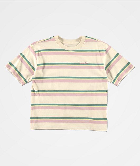 Dickies Tomboy Natural Stripe T-Shirt