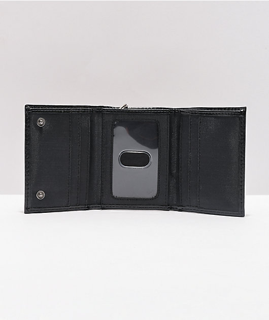 Dickies Trifold Black Chain Wallet