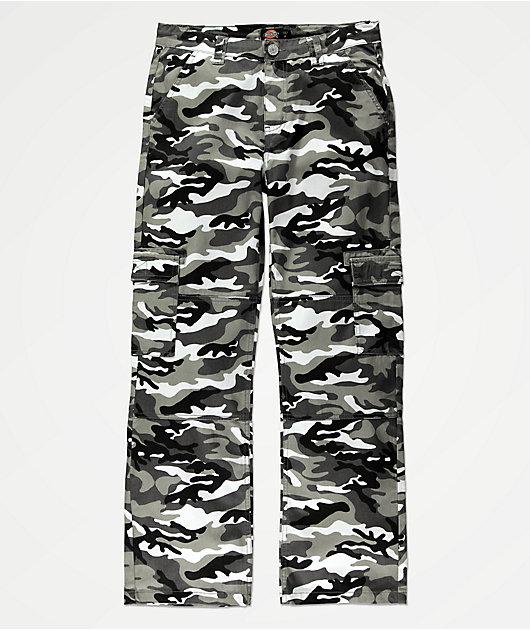 Dickies pantalones cargo de camuflaje para niños