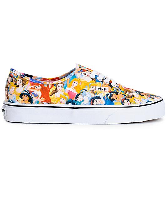 Disney x Vans Authentic Disney Princess Shoes