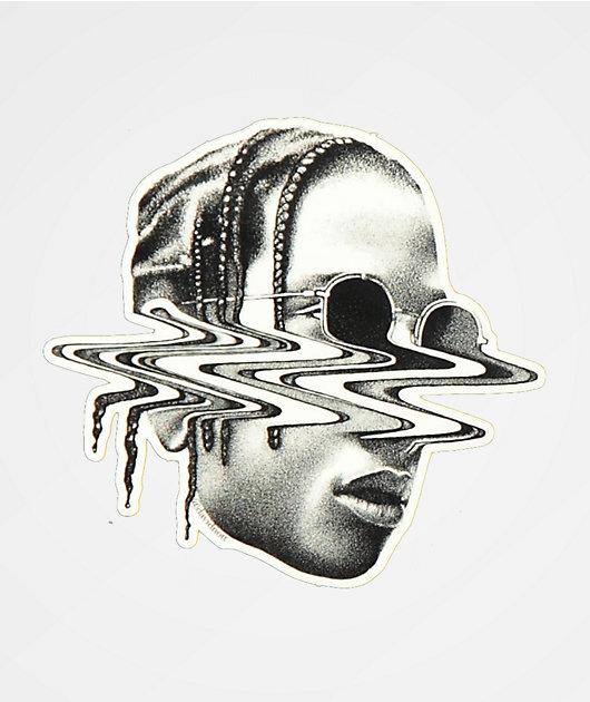 Distortion Rocky Sticker