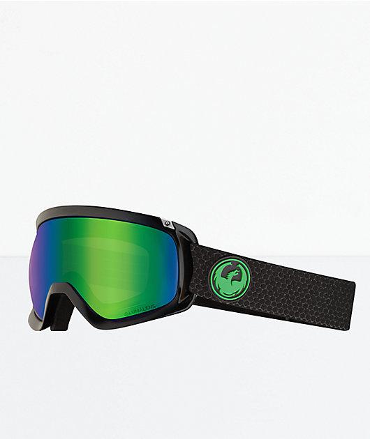 Dragon D3 OTG Split Green Ion Snowboard Goggles