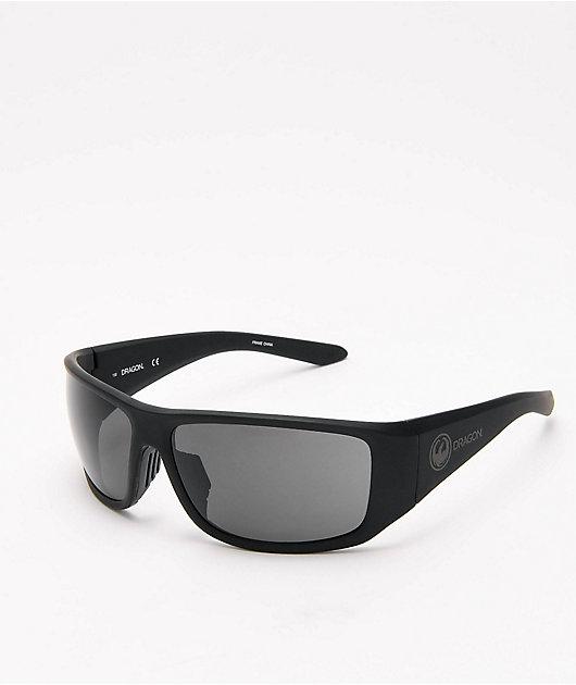 Dragon Jump gafas de sol en negro mate y gris