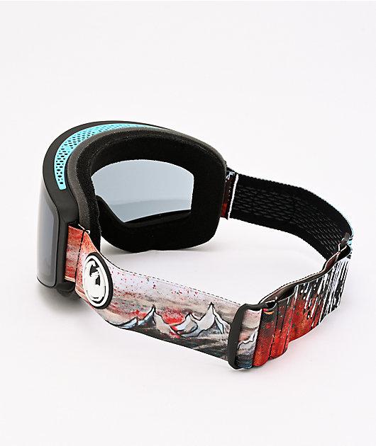Dragon PXV Bryan Iguchi Dark Smoke Snowboard Goggles